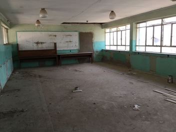 Chichiri School - before the refurbishment